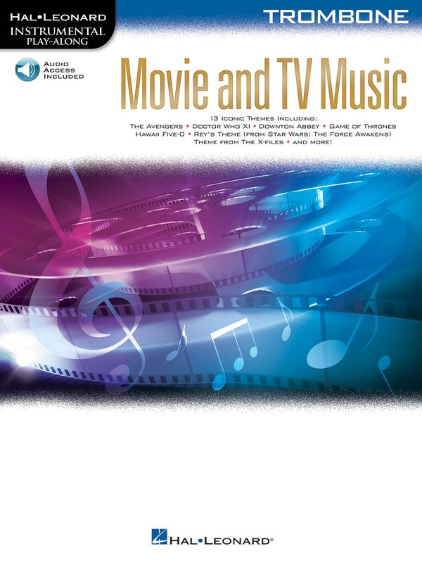 Movie and TV Music (+audio online): for trombone