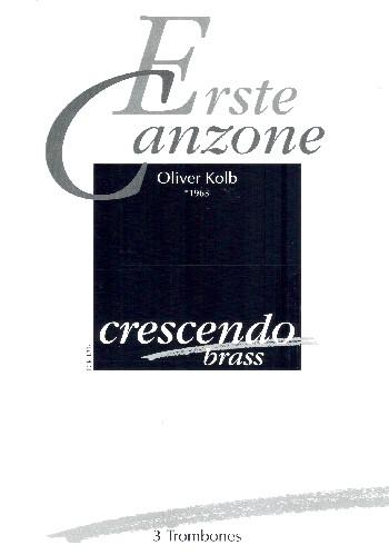 Canzone Nr.1: für Posaune und Klavier