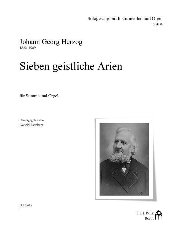 7 geistliche Arien : - Vollanzeige.