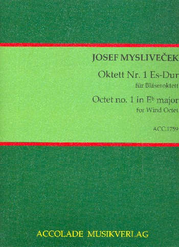 Oktett Es-Dur Nr.1 : - Vollanzeige.
