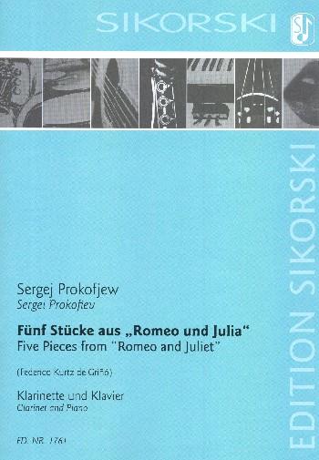 5 Stücke aus Romeo und Julia : - Vollanzeige.