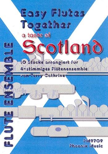 A Taste of Scotland: für 4-12 Flöten (4-stimmiges Ensemble)