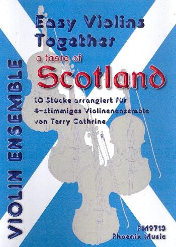 A Taste of Scotland: für 4-12 Violinen (4-stimmiges Ensemble)