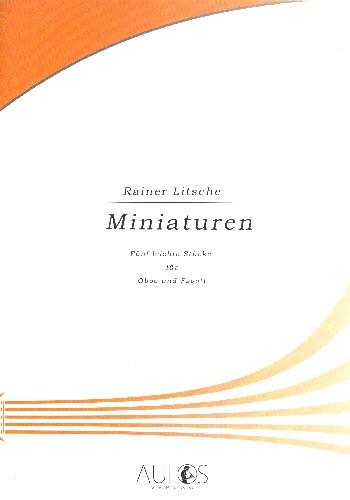 Miniaturen: für Oboe und Fagott