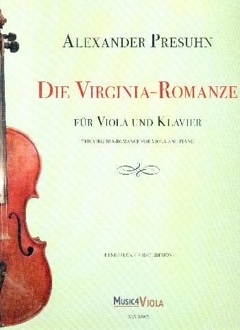 Die Virginia-Romanze: für Viola und Klavier