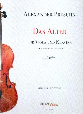 Das Alter: für Viola und Klavier
