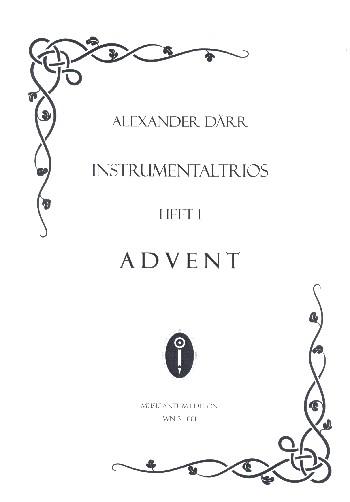 Instrumentaltrios Band 1 - Advent: für 3 Instrumente