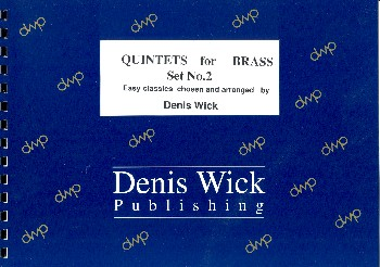 Quintets for Brass vol.2: for 2 trumpets, horn, trombone and tuba