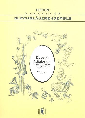 Deus in adiuutorum: für 10 Blechbläser