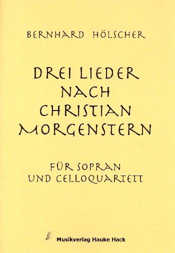 Hölscher, Bernhard - 3 Lieder :