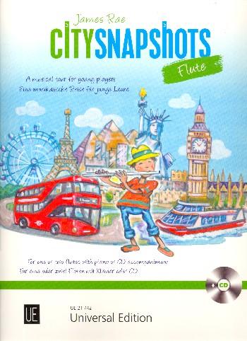 Rae, James - City Snapshots (+CD) :