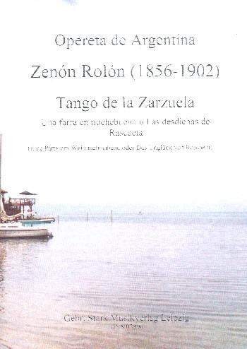 Tango de la Zarzuela : - Vollanzeige.