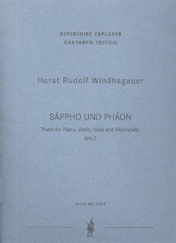 Sáppho und Pháon WN2: für Violine, Viola, Violoncello und Klavier
