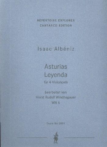 Asturias Leyenda: für 4 Violoncelli