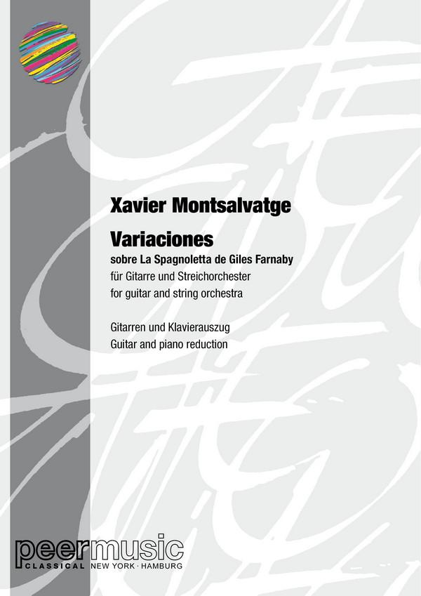 Montsalvatge, Xavier - Variaciones sobre La Spagnoletta de Giles Farnaby :