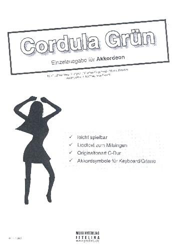 Cordula Grün : - Vollanzeige.