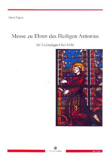 Figura, Alfred - Messe zu Ehren des Heiligen Anotnius :