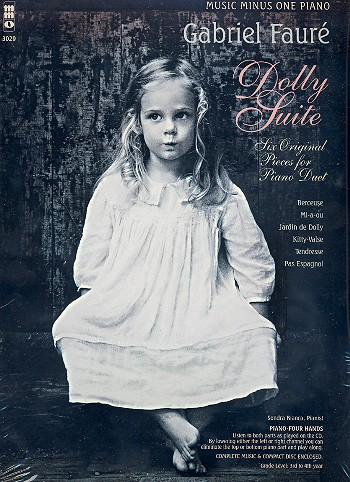 Dolly Suite op.56 (+CD): for piano 4 hands