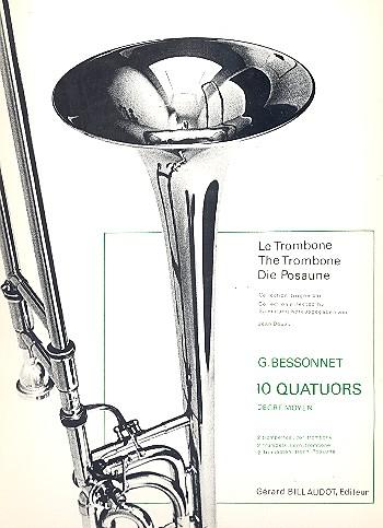 10 Quatuors: pour 2 trompettes, cor et trombone