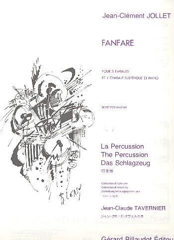 Fanfare: pour percussion et piano