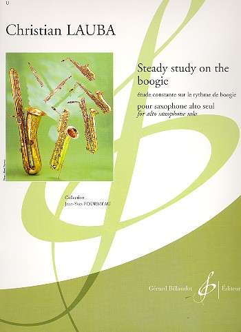 Steady Study on the Boogie: pour saxophone alto