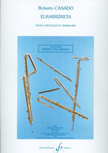 Elkarrizketa: pour 2 piccolos et tambourin