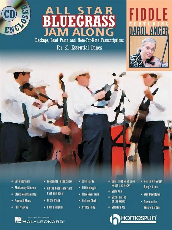 All Star Bluegrass Jam Along (+CD): for violin