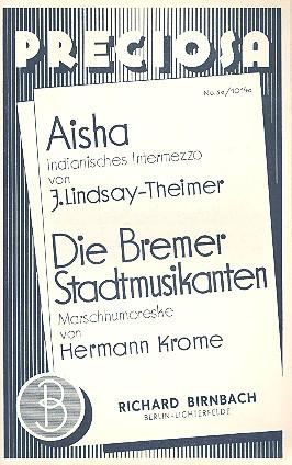 Aisha und Die Bremer Stadtmusikanten: für Salonorchester