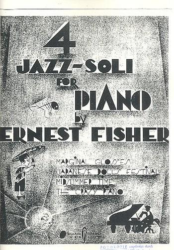 4 Jazz-Soli: für Klavier