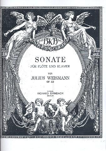 Weismann, Julius - Sonate op.135 : für Flöte und