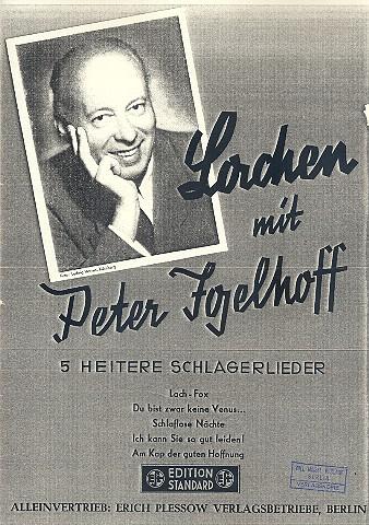 Lachen mit Peter Igelhoff: für Klavier