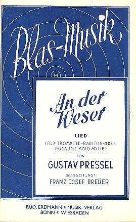 An der Weser: für Blasorchester