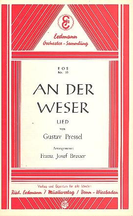An der Weser: für Salonorchester
