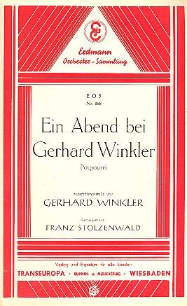 Ein Abend bei Gerhard Winkler: Potpourri für Salonorchester