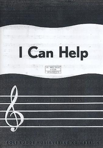 I can help: Einzelausgabe Gesang und Klavier