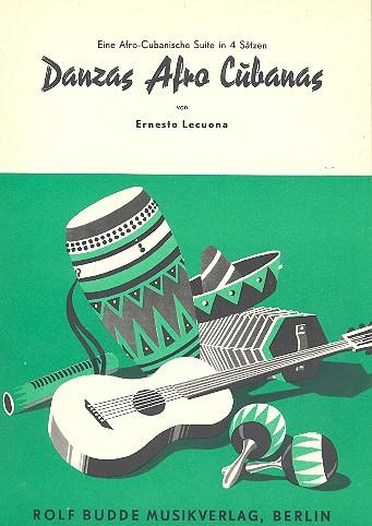 Danzas afro cubanas: für Klavier