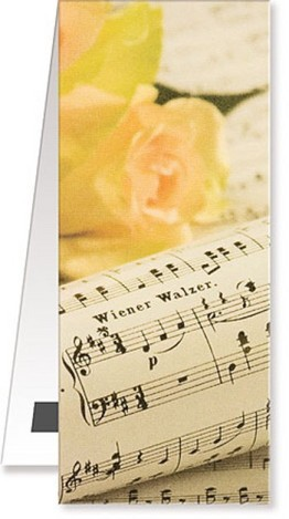 Lesezeichen Tempo di Valse magnetisch 10 x 4 cm (Verpackungseinheit 10 Stück)