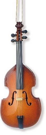 Anhänger Kontrabass Christbaumschmuck 11,40 cm
