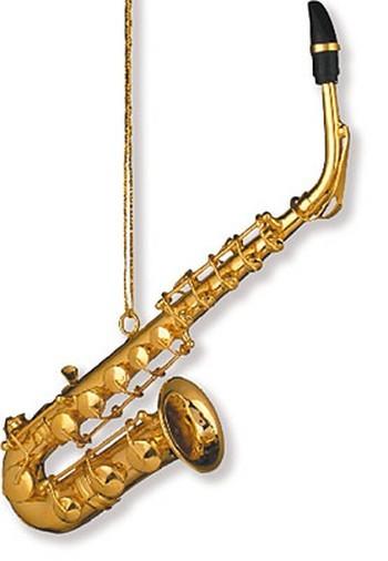 Anhänger Saxophon Christbaumschmuck 12,70 cm