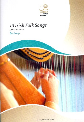 10 Irish Folk Songs: for harp