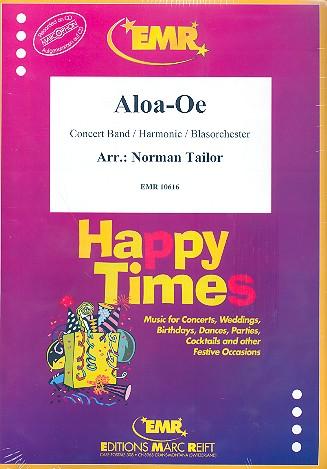 Aloa-Oe: für Blasorchester Partitur und Stimmen