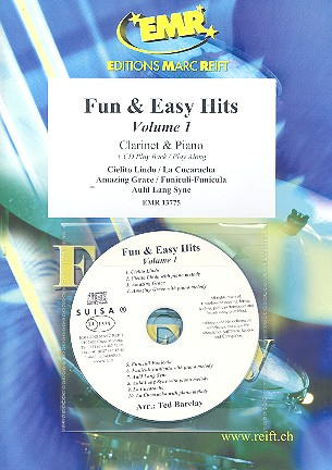 Fun and easy Hits vol.1 (+CD): for clarinet and piano