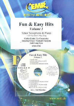 Fun and easy Hits vol.1 (+CD): for tenor saxophone and piano
