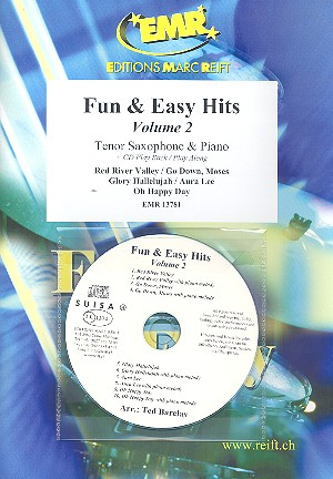 Fun and easy Hits vol.2 (+CD): for tenor saxophone and piano