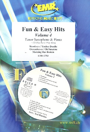 Fun and easy Hits vol.4 (+CD): for tenor saxophone and piano