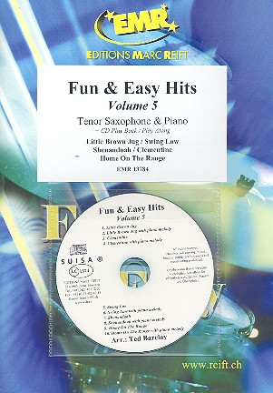 Fun and easy Hits vol.5 (+CD): for tenor saxophone and piano