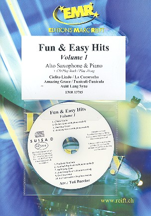 Fun and easy Hits vol.1 (+CD): for alto saxophone and piano