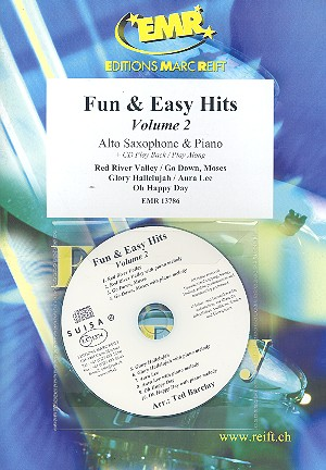 Fun and easy Hits vol.2 (+CD): for alto saxophone and piano