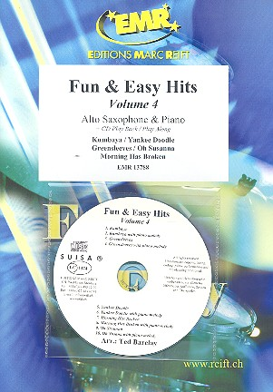 Fun and easy Hits vol.4 (+CD): for alto saxophone and piano