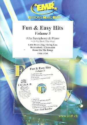 Fun and easy Hits vol.5 (+CD): for alto saxophone and piano